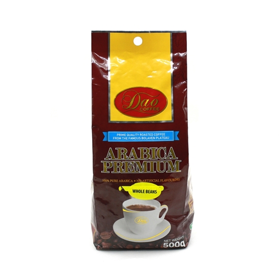 Picture of Roasted Coffee Bean Dao Arabica Premium (1pack x 500g)