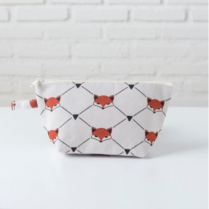Picture of Canvas cosmetic bag - Fox