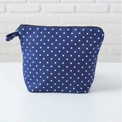 Picture of Canvas Pouch - REC Dot Blue