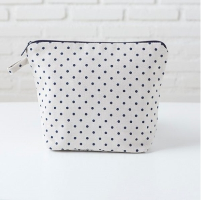 Picture of Canvas Pouch - REC Blue Dot