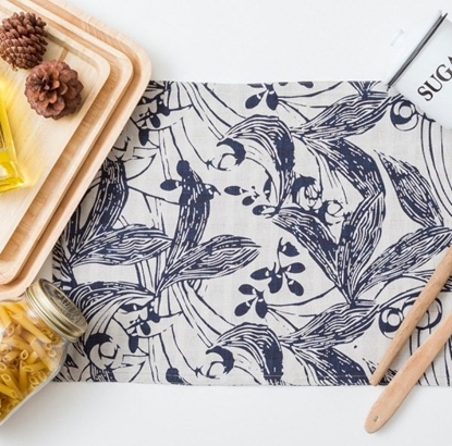 Picture of Cotton Placemat - Japanese Garden