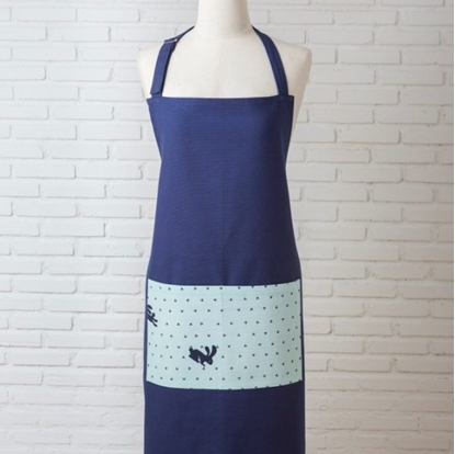 Picture of Cotton Apron - Blue Rabbit