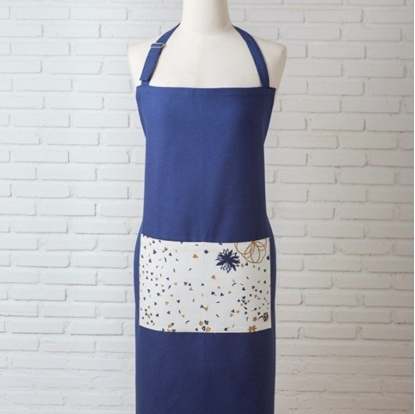 Picture of Cotton Apron - Blue Spring