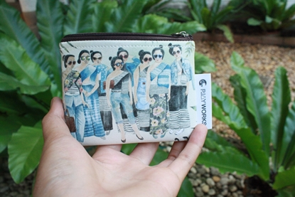 Picture of Thai Lady Coins Bag