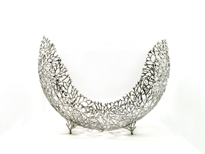 Picture of Loyfar Pewter Antler Coral Eclipse-Shape Object size 43 cm.