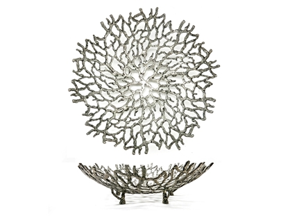 Picture of Loyfar Pewter Coral Round Plate