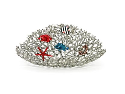 Picture of Loyfar Pewter Coral with Fish Fan-shaped Object