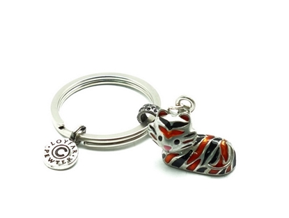 Picture of Loyfar Pewter 12 Chinese Sodiac theme- Tiger Keychain