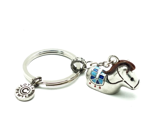 Picture of Loyfar Pewter 12 Chinese Sodiac theme- Horse Keychain