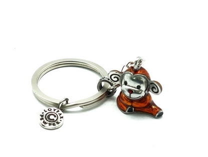Picture of Loyfar Pewter 12 Chinese Sodiac theme- Monkey Keychain