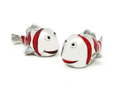 Picture of Loyfar Pewter Nemo Salt & Pepper Shakers (2 Pieces)