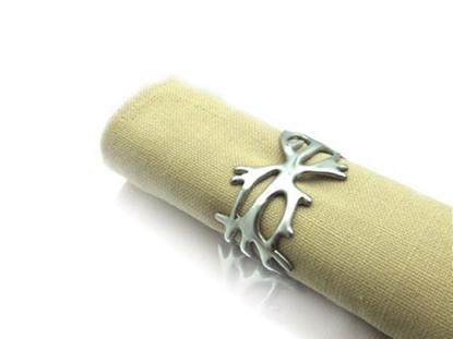 Picture of Loyfar Pewter Antler Napkin Ring