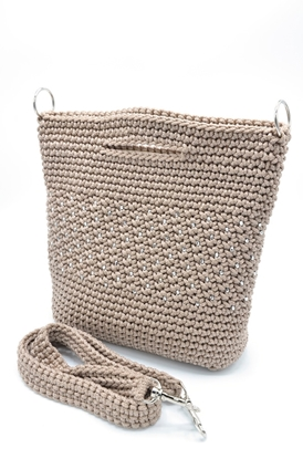 Picture of Blink blink with nude crochet  bag
