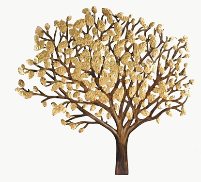 Picture of Gold tree Iron Wall art Home decor