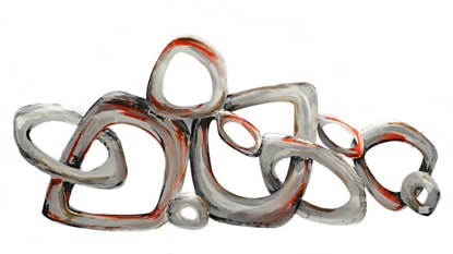 Picture of Abstract free form Iron Wall art Home decor
