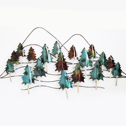 Picture of Christmas Tree Iron Wall art Home decor