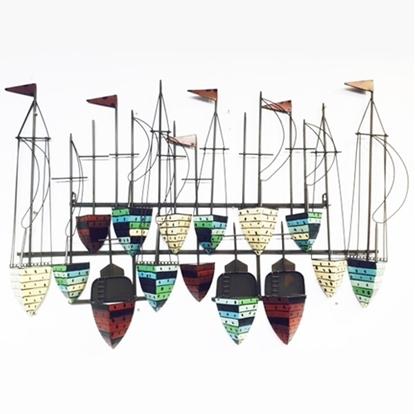 Picture of Treasure boat Iron Wall art Home decor