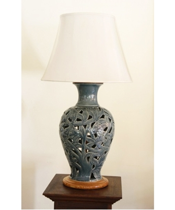 Picture of Blue Forest Lamp Celadon