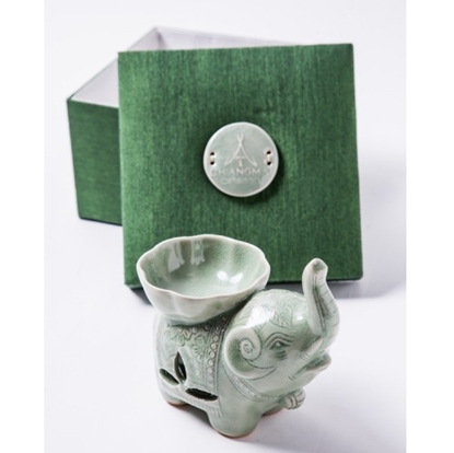 Picture of Elephant Burner Celadon