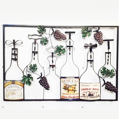 Picture of Bottle up Iron Wall art Home decor