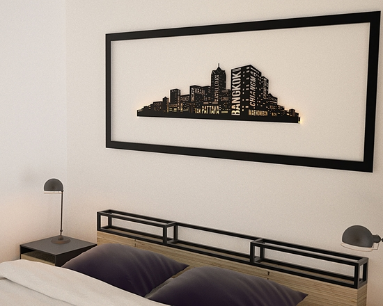 Picture of City Vibe Wall Accessory