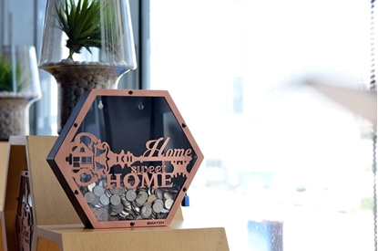 Picture of Home Sweet Home Coin Bank