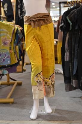 Picture of กางเกงสดอสีเหลืองอำพัน