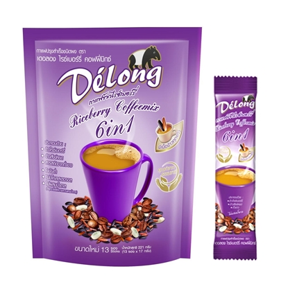 Picture of Delong Riceberry Coffeemix 6in1