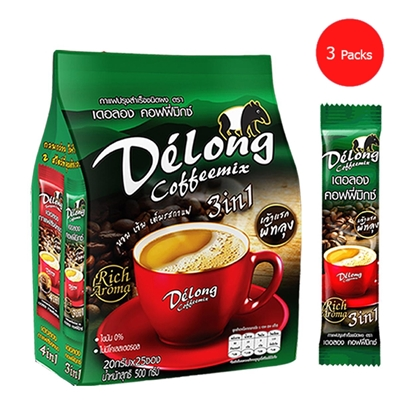 Picture of Delong coffeemix 3in1 (Pack 3)