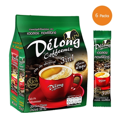Picture of Delong coffeemix 3in1 (Pack 6)