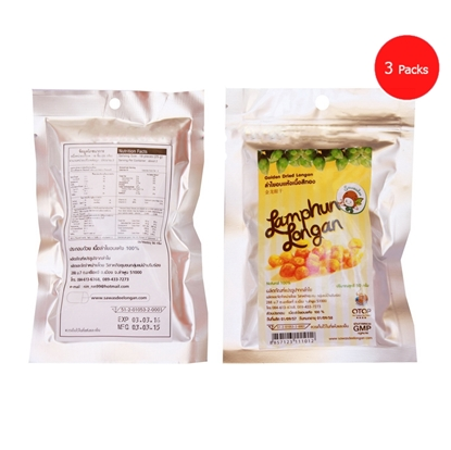 Picture of Golden Dried Longan 50 g. (Packs 3)
