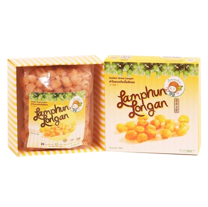 Picture of Golden Dried Longan Box 500 g.