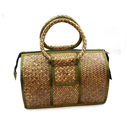 Picture of Kra-Jood weave - Black oak duffel bag