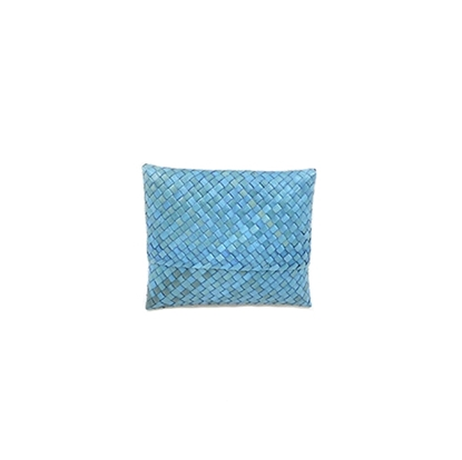 Picture of Kra-Jood weave - Blue Card Case