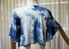 Picture of Indigo Tiedye Bell Rayon Top