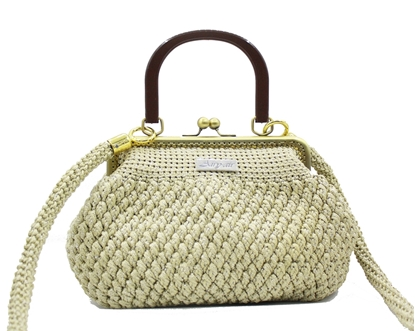 Picture of Droplet crochet bag