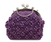 Picture of Purple crochet bag