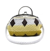 Picture of Droplet four color crochet  bag