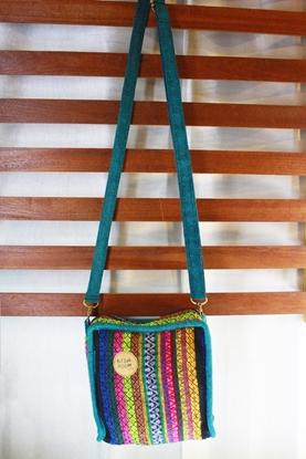 Picture of กระเป๋าสายรุ้ง (เขียว)