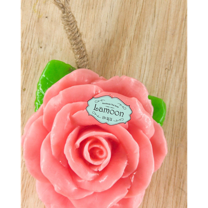Picture of Handmade natural rose flower soap