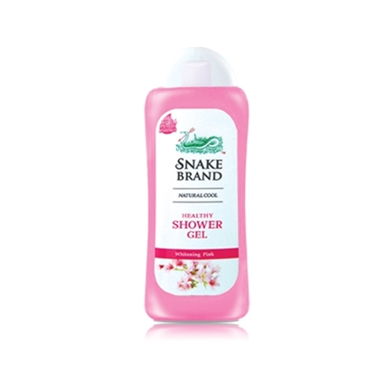 Picture of Snake Brand Prickly Heat Whitening Pink Shower Gel 220ml