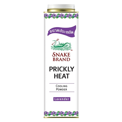 Picture of Snake Brand Prickly Heat Lavender Cooling Powder 450g