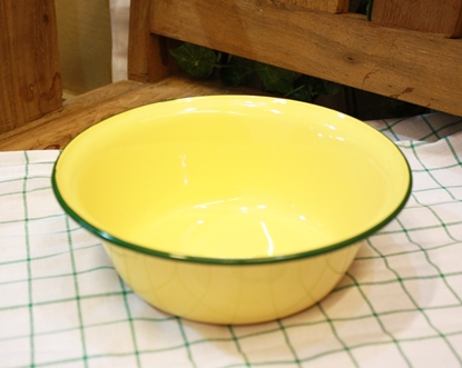 Picture of Thai Enamelware - Bowl 20cm.
