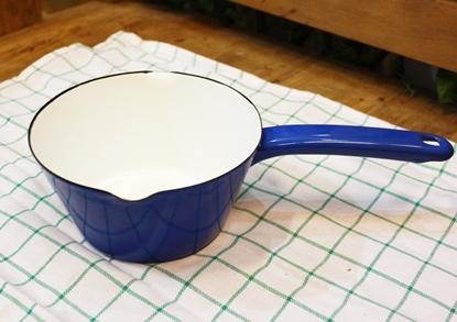 Picture of Thai Enamelware - Blue Saucepan