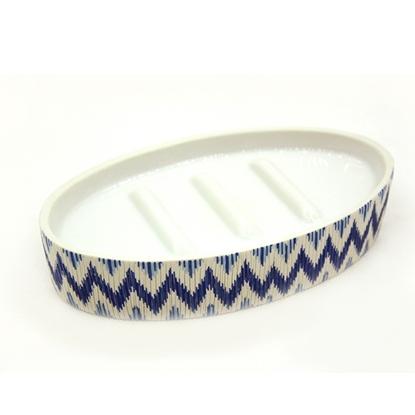 Picture of  Zigzag Ceramic soap holder