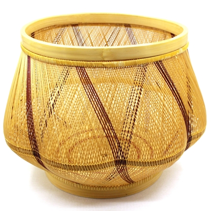 Picture of Blossom Bamboo hand weaving Home décor size 30 cm.
