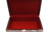 "Picture of Mother Of Pearl Jewelry Box 9x6"" (Red)"