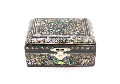 Picture of Mother Of Pearl Card Boxes