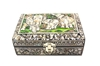 "Picture of Mother Of Pearl Jewelry Box 4x6"" (Black)"