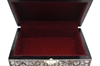 """Picture of Mother Of Pearl Jewelry Box 4x6"""" (Black)"""